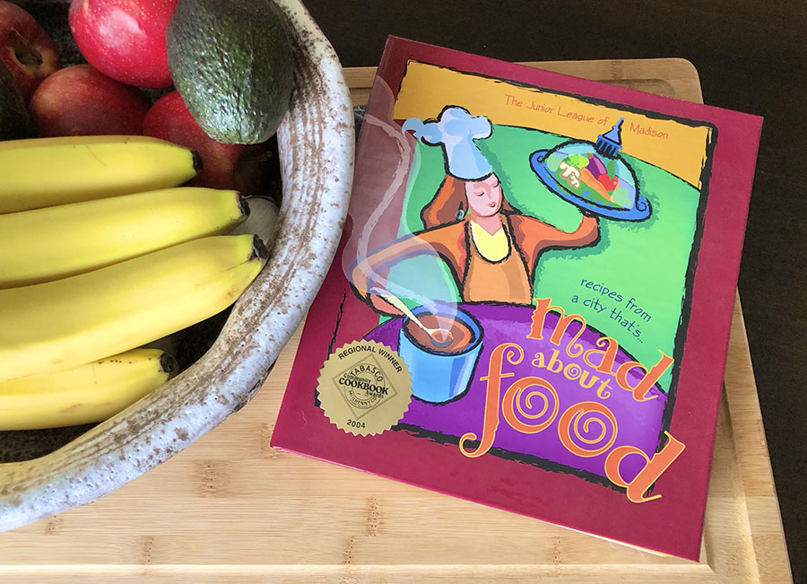 Purchase a Mad About Food Cookbook